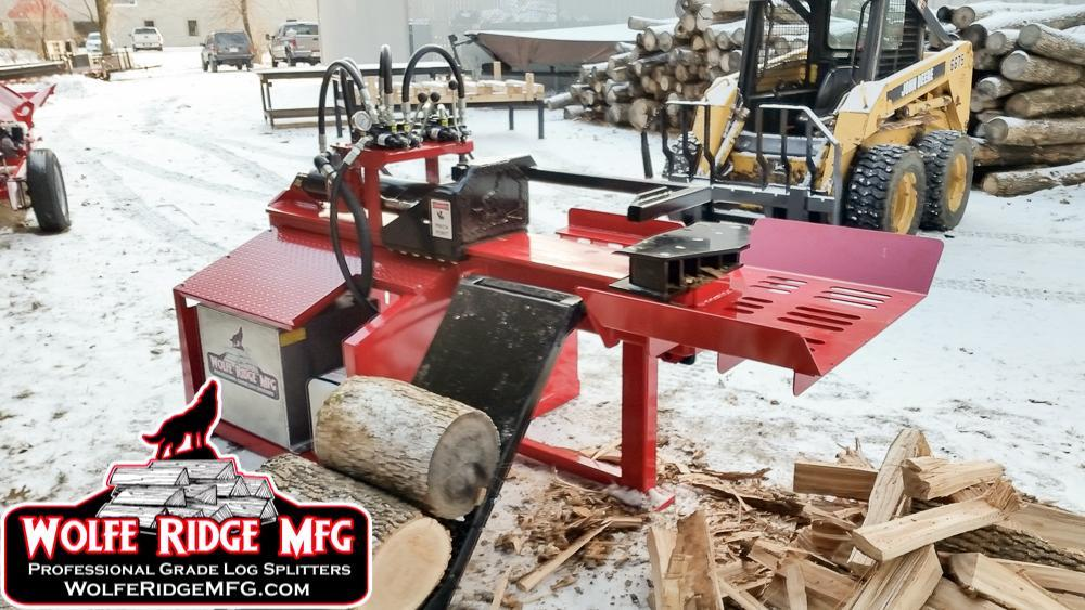 Heavy Duty Industrial Log Splitter