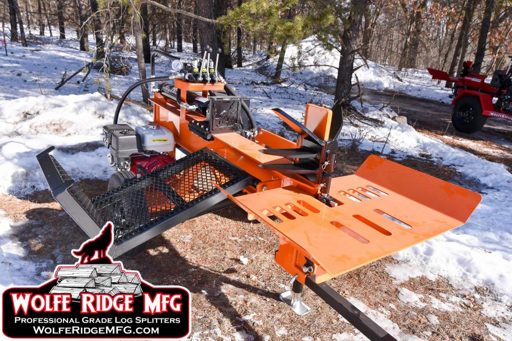 Compact Commercial Log Splitter