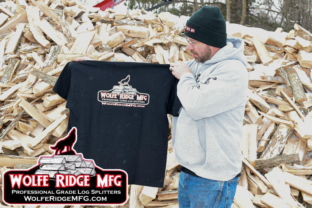 Short Sleeve Wolfe Ridge MFG T Shirt
